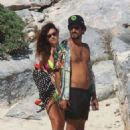 Thaila Ayala with Renato Goes – Relax on the beach in Tulum