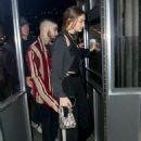 Gigi Hadid and Zayn Malik – Arrive at Eleven Madison Park to celebrate his 27th birthday in NY