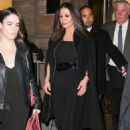 Catherine Zeta-Jones – Leaves Carnegie Hall in New York City