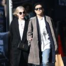 Lucy Boynton and Rami Malek Out in New York 03/11/2019 - 454 x 524