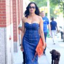 Padma Lakshmi – Out and about in New York - 454 x 681