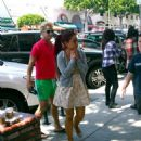 Ariana Grande was spotted out doing a little shopping with a friend yesterday, May 6, at Larchmont Boulevard in Los Angeles