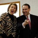 Mike Huckabee and Janet McCain - 388 x 316