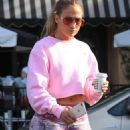 Jennifer Lopez – Seen at a Alfred Coffee In West Hollywood