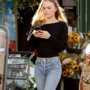 Lily Rose Depp – Leaving a LA grocery store