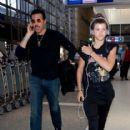Sofia Richie prepare to depart LAX May 13, 2013