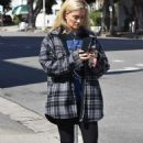 Holly Madison – Goes out for a walk in Studio City