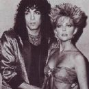 Paul Stanley and Lisa Hartman