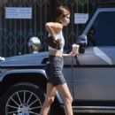Kendall Jenner – Out with a friend in Los Angeles