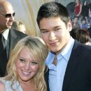 Hilary Duff and Oliver James