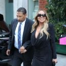 Mariah Carey – Leaving Mr Chow Restaurant in Beverly Hills - 454 x 565