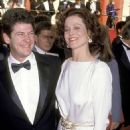 Jim Simpson and Sigourney Weaver attends The 61st Annual Academy Awards (1989)