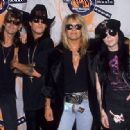Motley Crue at the 1990 MTV Awards - 454 x 317