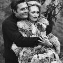 Faye Dunaway and Marcello Mastroianni - 454 x 445