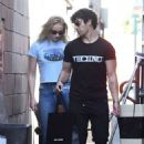 Sophie Turner on The Sunset Strip in West Hollywood