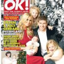 Steven Gerrard, Alex Curran - OK! Magazine Cover [United Kingdom] (20 December 2011)