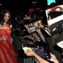 Ashley Greene arrives at the Premiere of The Twilight Saga: Breaking Dawn - Part 1 at Nokia Theatre L.A. Live on November 14, 2011 in Los Angeles, California