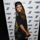 Actress Kat Graham attends a private event at Hyde Lounge for the Bruno Mars & Ellie Goulding concert hosted by AQUAhydrate at The Staples Center on July 27, 2013 in Los Angeles, California