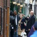 Georgia May Jagger Filming A Commercial For Rimmel In Hampstead Village