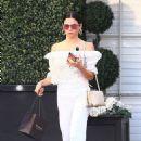 Jenna Dewan – Leaving Epione Cosmetic Dermatologist in Beverly Hills
