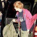 Taylor Swift was spotted heading to a recording studio in Los Angeles yesterday, May 28. The pop singer was joined by British artist, Ed Sheeran