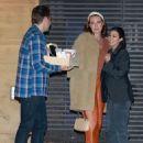 Kourtney Kardashian – Has dinner at Nobu in Malibu