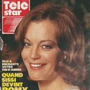 Romy Schneider - Télé Star Magazine Cover [France] (1 January 1990)