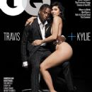 Kylie Jenner and Travis Scott (rapper) - GQ Magazine Cover [United States] (August 2018)