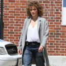 Jennifer Lopez on the set of 'Shades of Blue' in NYC - 454 x 686