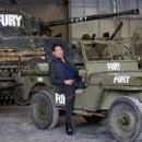 'Fury' Photo Call At The Tank Museum In Bovington, England - 454 x 303