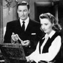 Barbara Stanwyck and Errol Flynn