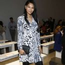 Chanel Iman – Elie Tahari Show at New York Fashion Week in NYC - 454 x 693