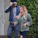 Actress Ashley Benson and her boyfriend are spotted out for lunch at Alfred's Coffee & Kitchen in West Hollywood, California on March 3, 2016