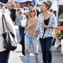 Sarah Hyland is seen out shopping on October 16, 2016