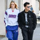 Sophie Turner and Joe Jonas – Shopping in Studio City