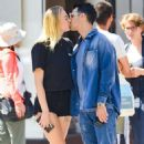 Sophie Turner and Joe Jonas share a kiss in New York City - 454 x 762