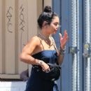 Vanessa Hudgens – Seen while feeds the parking meter in Los Angeles