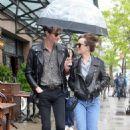 Dakota Johnson out in New York with Matt Hitt (May 3, 2016) - 454 x 682