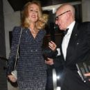 Jerry Hall and Rupert Murdoch - 454 x 596