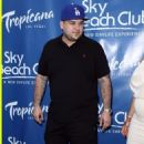 Blac Chyna and Rob Kardashian at The Sky Beach Club Memorial Day Party in the Tropicana Casino in Las Vegas, Nevada - May 28, 2016