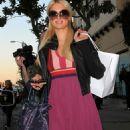 Paris Hilton outside Kate Sommerville Salon in LA, 01-02-11