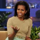 "Michelle Obama Drops By ""The Tonight Show"""