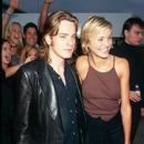 Ewan McGregor and Cameron Diaz attends The 1997 MTV Movie Awards