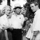 "Eva Marie Saint, Otto Preminger & Paul Newman in ""Exodus"" (1960)"