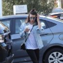 Lea Michele and Ashley Tisdale out in Brentwood