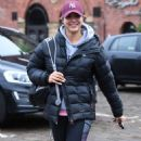 Gemma Atkinson – Leaving Key 103 Radio Station in Manchester - 454 x 825