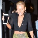 Nicky Whelan – Arrives at Craig's in West Hollywood