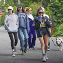 Cara Delevingne, Ashley Benson and Kaia Gerber – Out in Los Angeles