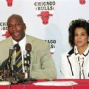 Michael Jordan and Juanita Vanoy - 426 x 287