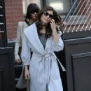 Jessica Biel - Leaves Her New York Apartment, 2010-02-17